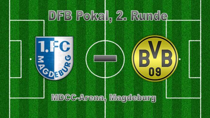 Dfb Pokal 2 Runde I 24102017 I 1 Fc Magdeburg Borussia